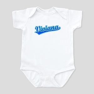 Retro Viviana (Blue) Infant Bodysuit