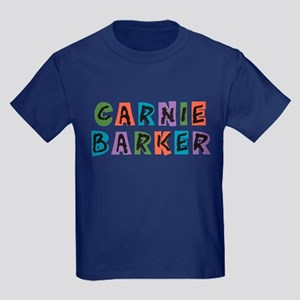 Carnival Carnie Barker Kids Dark T-Shirt