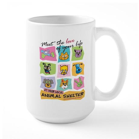 Meet The Love Of Your Life Large Mug