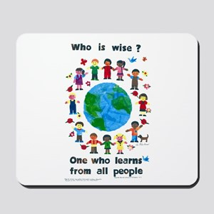 Who is Wise - Mousepad
