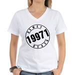 Dewey Beach 19971 Women's V-Neck T-Shirt