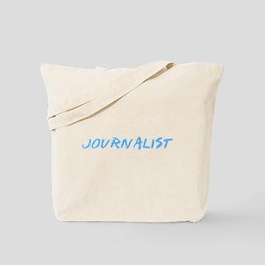 Journalist Profession Design Tote Bag
