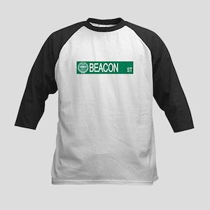 """Beacon Street"" Kids Baseball Jersey"
