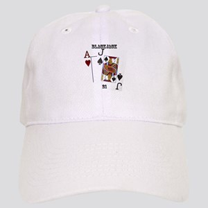 Blackjack Cards Cap