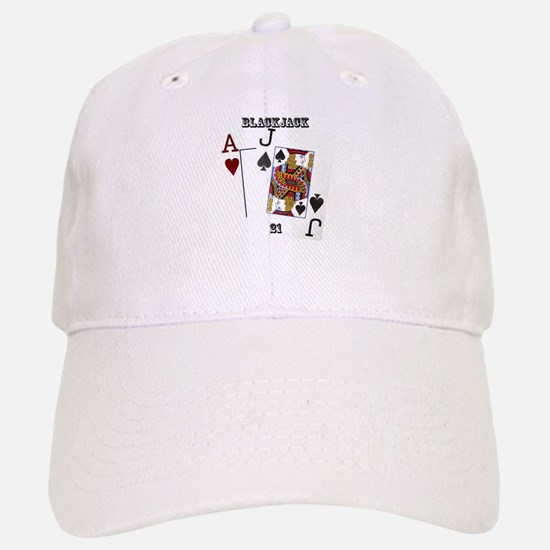 Blackjack Cards Baseball Baseball Cap