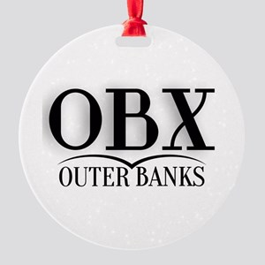 Outer Banks Round Ornament