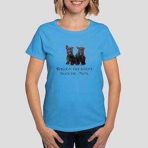 Scottish Terrier Puppies Best Women's Dark T-Shirt