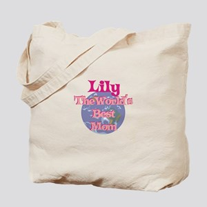Lily - World's Best Mom Tote Bag