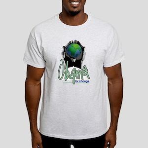 Obama for change` Light T-Shirt