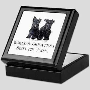 Scottish Terrier Puppies Best Keepsake Box