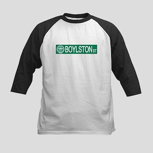 """Boylston Street"" Kids Baseball Jersey"
