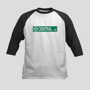 """Central Square"" Kids Baseball Jersey"