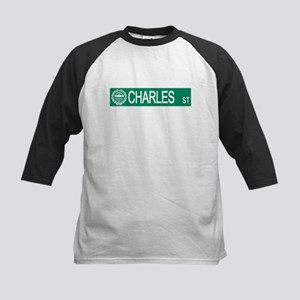 """Charles Street"" Kids Baseball Jersey"