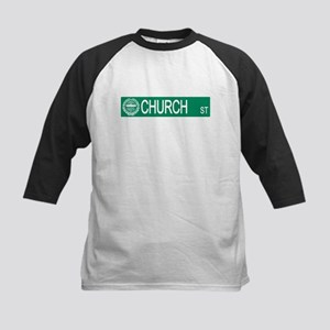 """Church Street"" Kids Baseball Jersey"