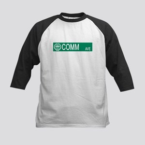"""Comm Ave"" Kids Baseball Jersey"