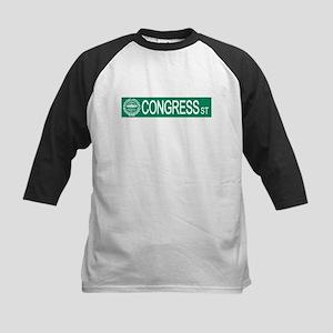 """""""Congress Street"""" Kids Baseball Jersey"""