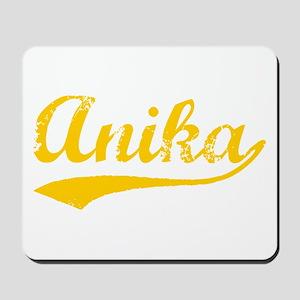 Vintage Anika (Orange) Mousepad