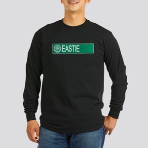 """Eastie"" Long Sleeve Dark T-Shirt"