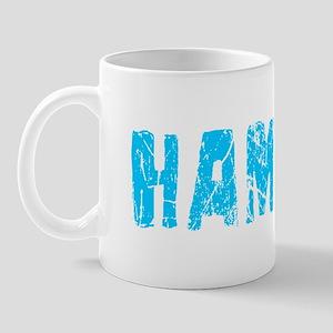 Hamza Faded (Blue) Mug