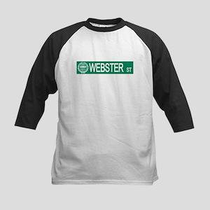 """Webster Street"" Kids Baseball Jersey"