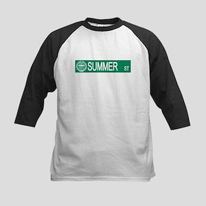 """""""Summer Street"""" Kids Baseball Jersey"""