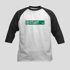"""Stuart Street"" Kids Baseball Jersey"