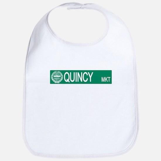 """""""Quincy Market"""" Bib"""