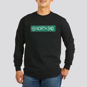 """North End"" Long Sleeve Dark T-Shirt"
