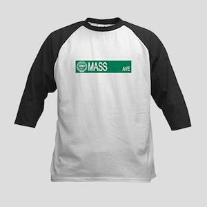 """""""Mass Ave"""" Kids Baseball Jersey"""