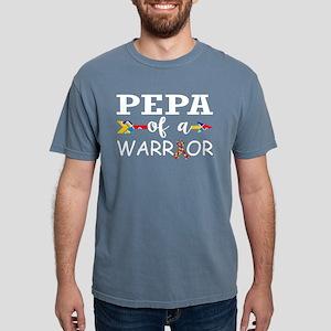Pepa Of A Warrior Autism Awareness T-Shirt