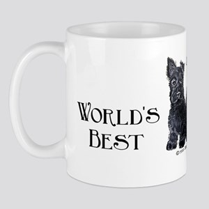 Scottish Terriers Best Dad Pu Mug