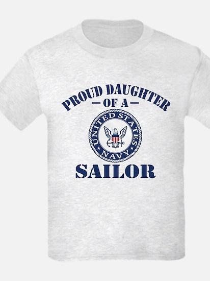 Proud Daughter Of A US Navy Sai T-Shirt