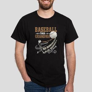 Baseball T Shirt, Baseball Grandma T Shirt T-Shirt