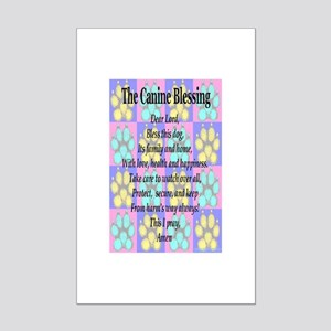The Canine Blessing Mini Poster Print