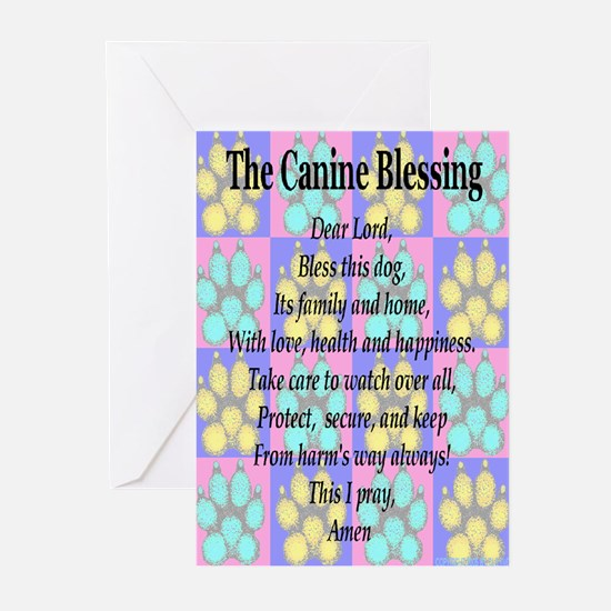 The Canine Blessing Greeting Cards (Pk of 10)