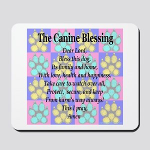 The Canine Blessing Mousepad