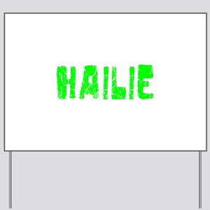 Hailie Faded (Green) Yard Sign