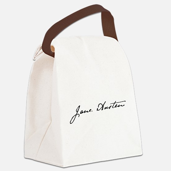 Yours, Jane Canvas Lunch Bag