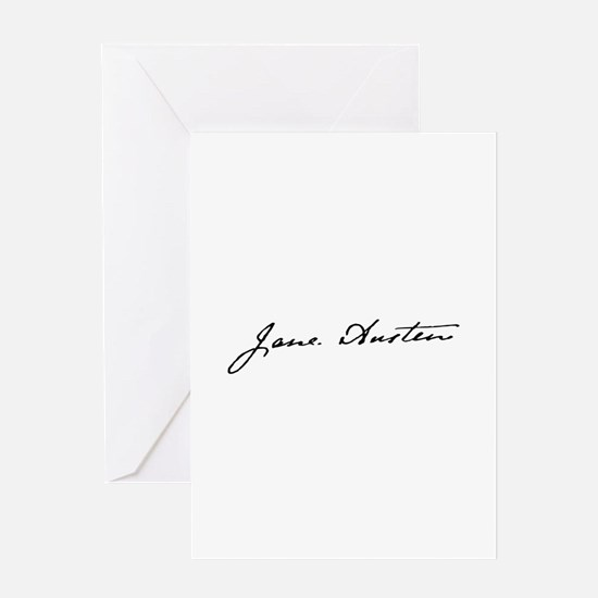Yours, Jane Greeting Cards