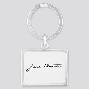 Yours, Jane Keychains