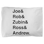 Joe&rob&zubin&ross&andrew Pillow S