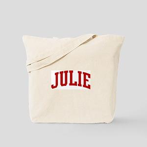JULIE (red) Tote Bag