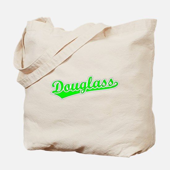 Retro Douglass (Green) Tote Bag