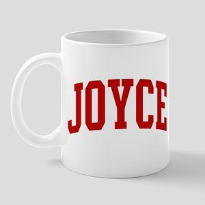 JOYCE (red) Mug