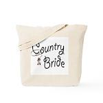Western Bride Tote Bag