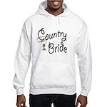 Western Bride Hooded Sweatshirt