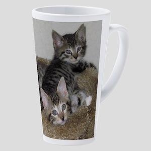 Cute Kittens 17 Oz Latte Mug