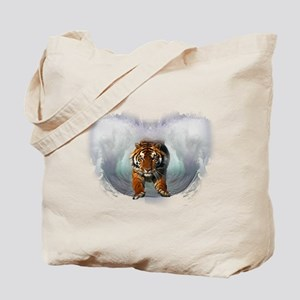 Leaping Tiger Tote Bag