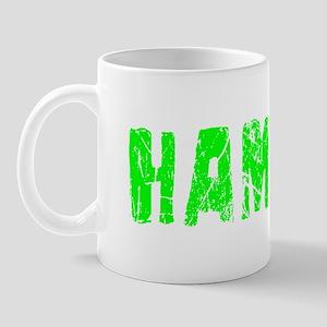 Hamza Faded (Green) Mug