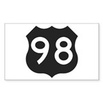 Hwy 98 Sticker